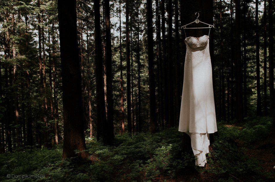 zdjęcia ślubne w Tatrach, wesele w Hotelu Dworek Sichlański w Murzasichle